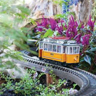NEW! Biltmore Gardens Railway – May 24 through Sept. 29, 2019