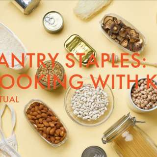 Chow Chow Virtual Series: Pantry Staples: Cooking with Kids