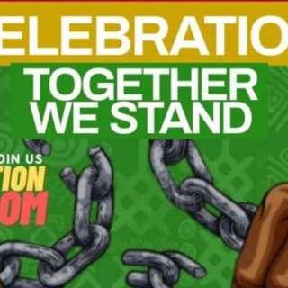 Asheville Juneteenth Celebration (TOGETHER WE STAND)