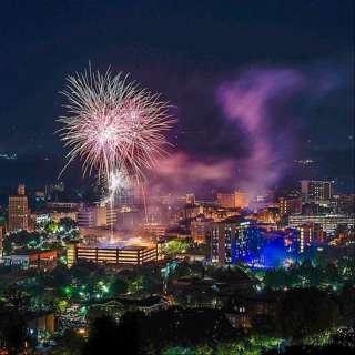 4th of July Celebration Downtown Asheville