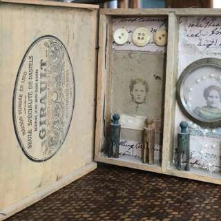 Arts & Crafts Workshop: Mixed Media Shadow Box
