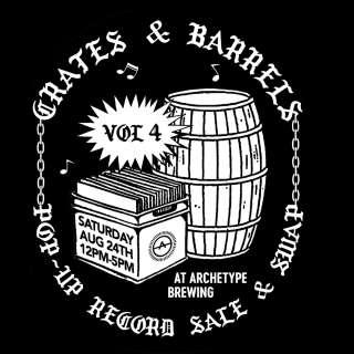 CRATES & BARRELS VINYL RECORD SWAP & SALE