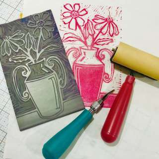 Second Saturday Printmaking Demonstration
