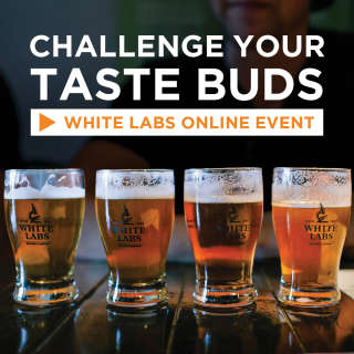 VIRTUAL: Challenge Your Taste Buds with White Labs