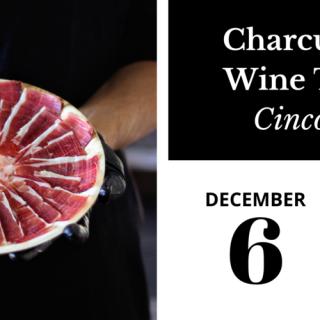 Charcuterie & Wine Tasting: Cinco Jotas Iberico Ham