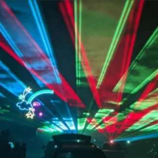 The Drive-In Laser Show - Asheville
