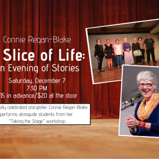 A Slice of Life: An Evening of Stories with Connie Regan Blake
