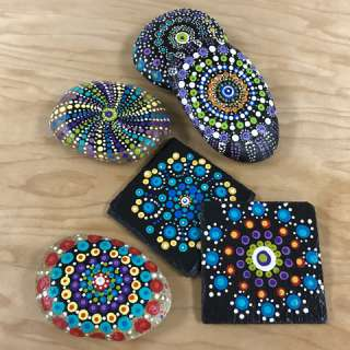 Arts & Crafts Workshop: Dot Mandala Painting