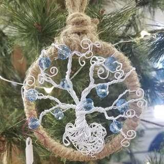 Arts & Crafts Workshop: Tree of Life Dreamcatcher Ornament