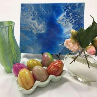 CANCELLED: Arts & Crafts Workshop: Fluid Art-Spring Eggstravaganza