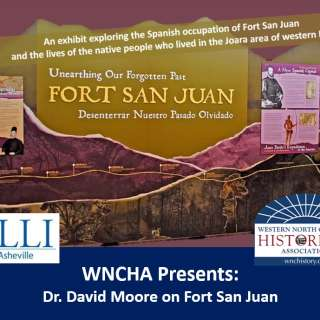 VIRTUAL: WNCHA Presents: Dr. David Moore on Fort San Juan