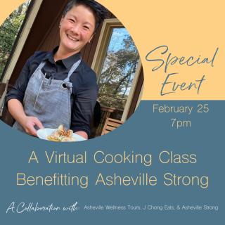VIRTUAL: Live cooking demo! w/ local chef J Chong