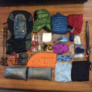Intro to Lightweight Backpacking Trip