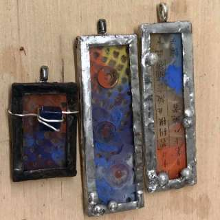 Encaustic Pendants with Gina Louthian-Stanley, June 13