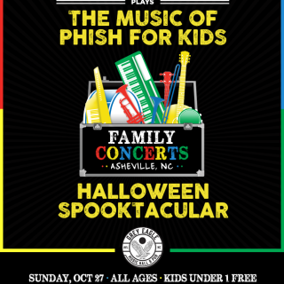The Rock and Roll Playhouse Presents The Music of Phish For Kids Halloween Spooktacular