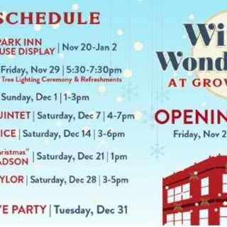 Winter Wonderland at Grove Arcade