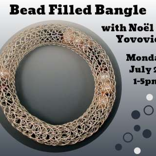 Bead Filled Bangle Jewelry Workshop