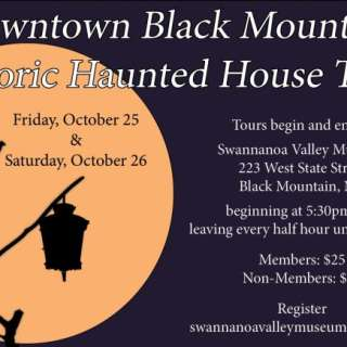 Historic Haunted House Tour of Downtown Black Mountain