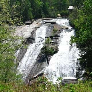 Tour de Falls Walking Tour of DuPont Forest Waterfalls