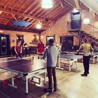"PONG AVL ""Open Play"" Ping Pong Nights at the Wedge at Foundation"