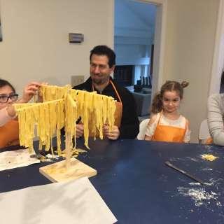 Grandparent's Day Pasta Making!