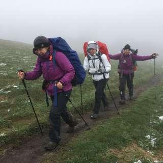 Women's Beginner Backpacking Trip