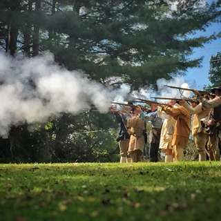 Militia Living History Day at Vance Birthplace