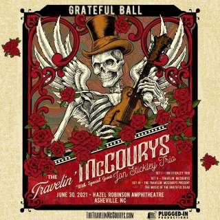 The Travelin' McCourys' Grateful Ball ft. Jon Stickley Trio - Live at Hazel Robinson Amphitheatre!