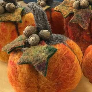 Art & Craft Workshop: Intro to Needle Felting-Pumpkin