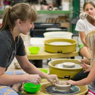 Odyssey Clay Camp 2020 -- Young Potter's Wheel Camp -- Instructor: Amy Briggs