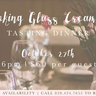 Looking Glass Creamery Tasting Dinner