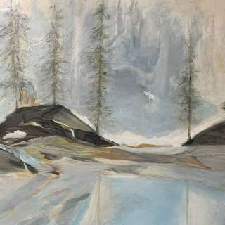 "Asheville Gallery of Art April Show, ""Contemporary Vistas"" featuring artist Sally Lordeon"