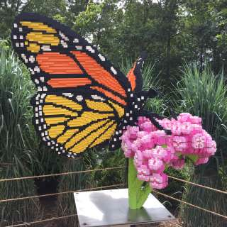 Nature Connects®: Art with LEGO® Bricks Exhibit