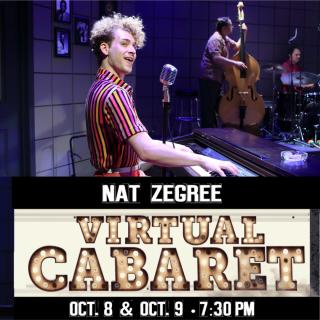 VIRTUAL: Nat Zegree Virtual Cabaret