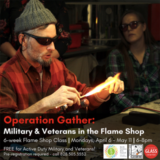 Operation Gather: Military & Veterans 6-week Flame Shop Class