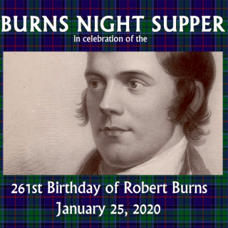 Asheville Sister Cities Burns Night Supper
