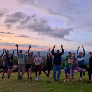 Yoga on the Mountain Hike - An Inspired Way to Practice Social Distancing!