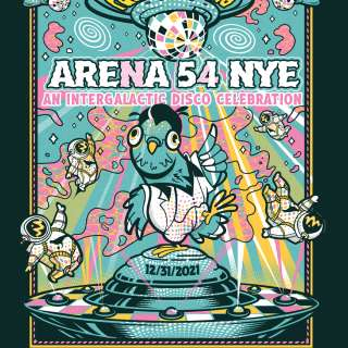 Pigeons Playing Ping Pong NYE 2021 Arena 54 with special guests Keller Williams and Funk You