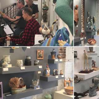 Odyssey Co-Op Art Gallery Second Saturday