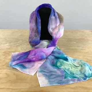 Arts & Crafts Workshop: Sharpie Silk Scarf