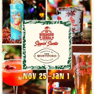 Sippin' Santa at The Montford Rooftop Bar