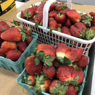 Strawberry Day at the WNC Farmers Market