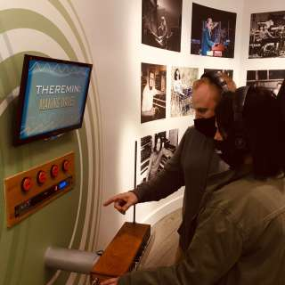 Experience Interactive Exhibits, Learn to Play a Synthesizer and Theremin