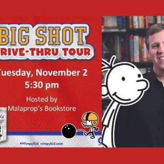 Jeff Kinney Comes to Asheville with The Big Shot Drive-Thru!