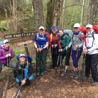Women's Appalachian Trail Backpacking Trip: March 27-29, 2020