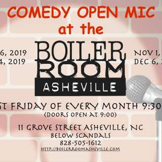 Open Mic Comedy at Boiler Room