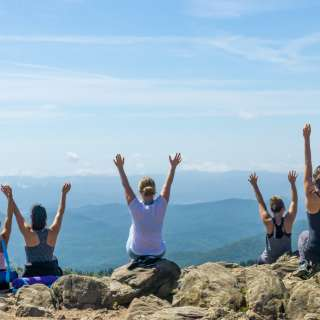 Mountaintop Yoga & Meditation Hike in Asheville
