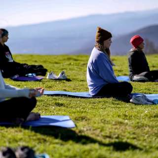 $5 OFF Winter Yoga Hikes!