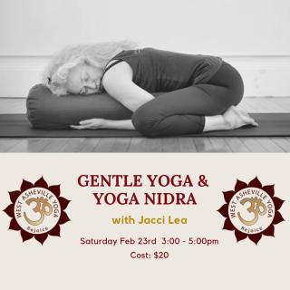 Gentle Yoga & Yoga Nidra