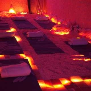"""Love your Breath"" Yoga & Yoga Nidra Meditation in Himalayan Salt Cave at The Salt Spa of Asheville"